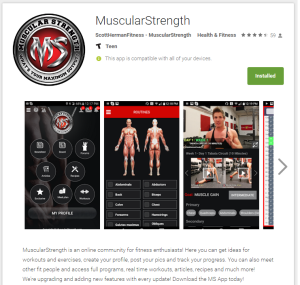 Android App Development - MuscularStrength