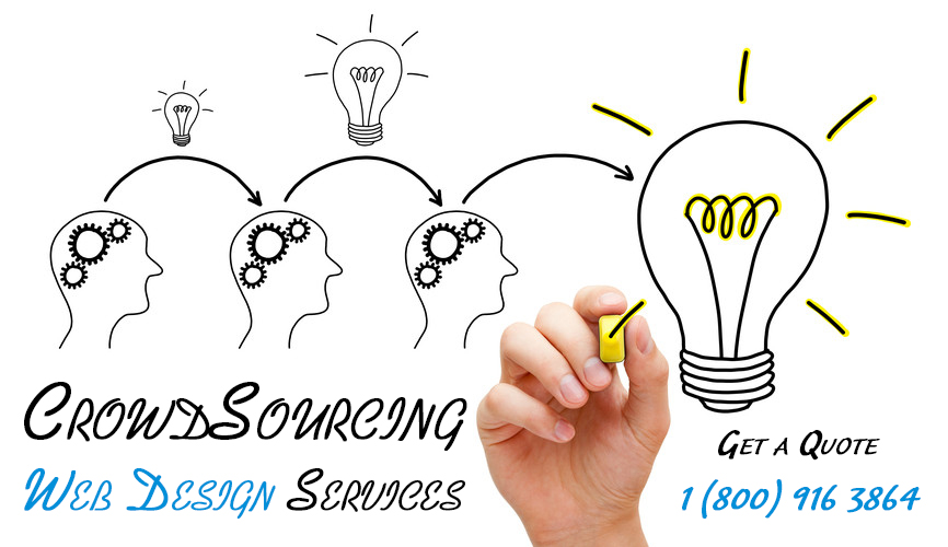 CrowdSource Web Design Service
