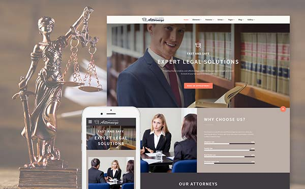 Legal Website Design Services