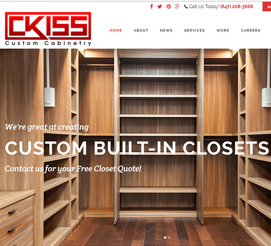CKISS - WordPress Web Design