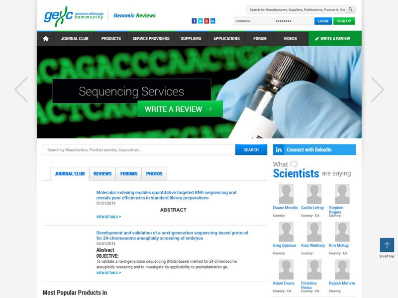 Genomic Reviews