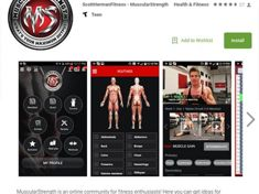 Muscular Strength Android App