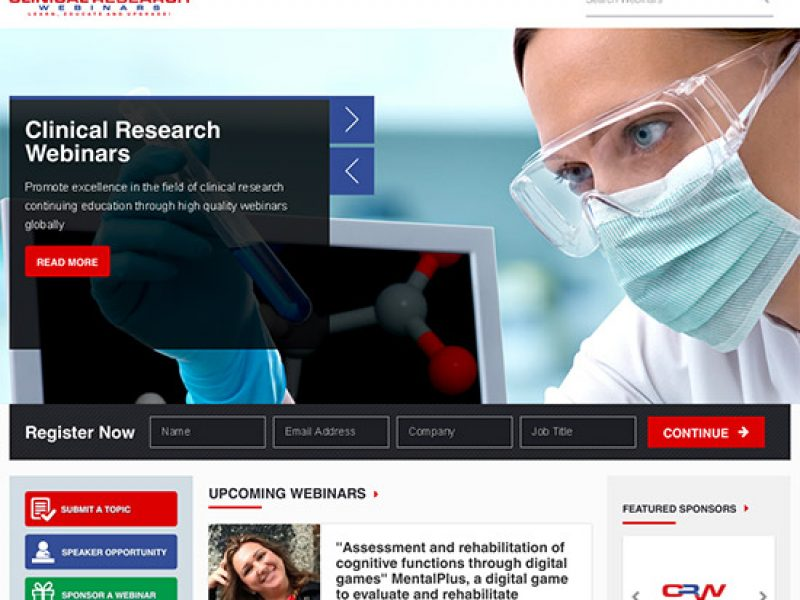 Clinical Research Webinars