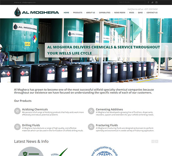 Al Moghera - WordPress Web Design