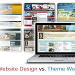 Custom Web Design vs Theme WordPress Website Design