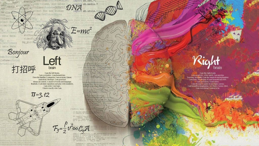 Left and Right Brain - Download Wallpaper
