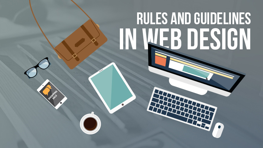 5 Rules in Website Design