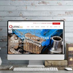 Qs HVAC WordPress WebDesign