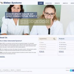SIDAC Systems - Custom Web Design