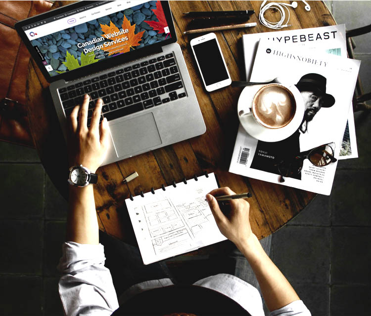 custom web design services, custom web site design agency