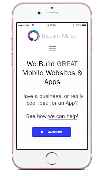 Mobile websites and Applications