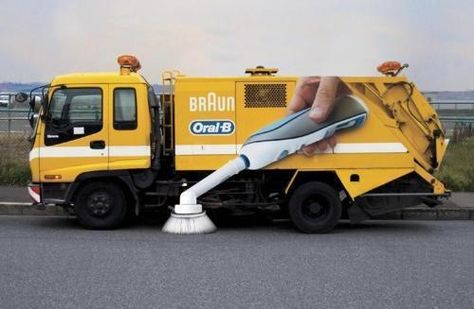 Braun Oral B Guerilla Ad