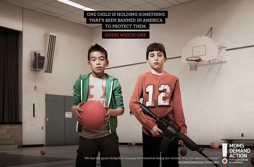 Moms Demand Action - Print Advert