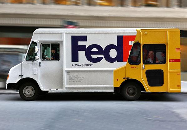 Fedex Guerilla Marketing on Bus