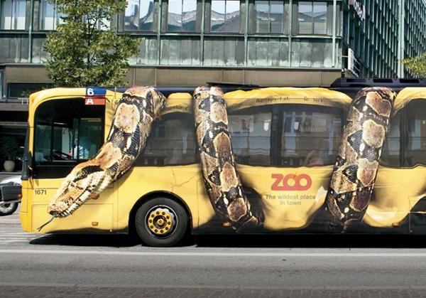 Guerilla Marketing Techniques - The Copenhagen Zoo