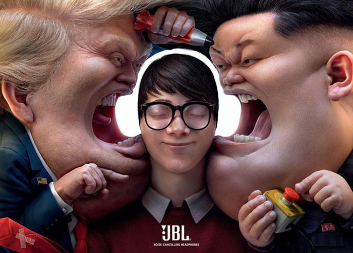 "JBL ""SHHH"" Print Ad"