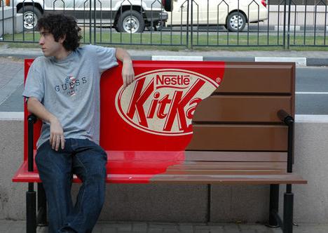 KitKat Guerilla Advertising