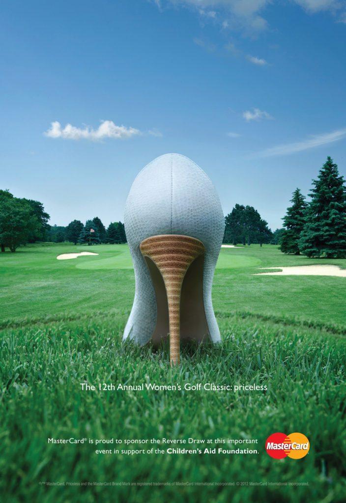Mastercard PGA Advertisements 2019