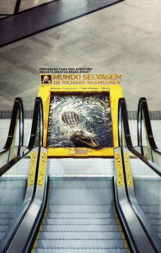 National Geographic Guerilla Marketing