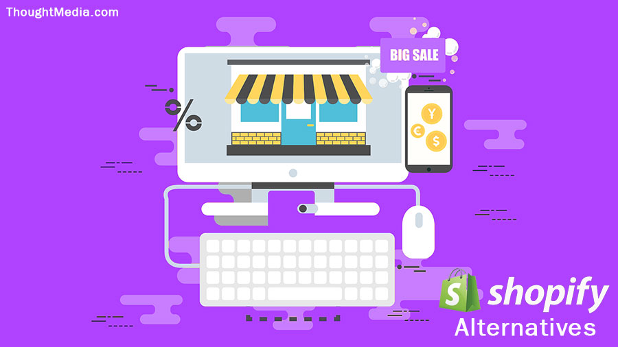 Shopify Alternatives Ecommerce Website Development