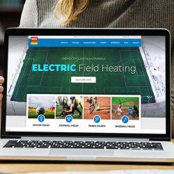 WordPress Web Design Alecs Field Heating